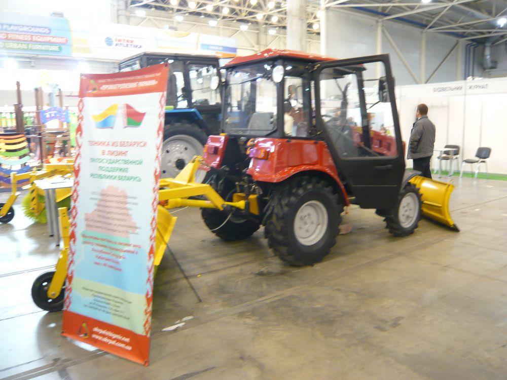 Белорусские тракторы на агровыставке в Киеве
