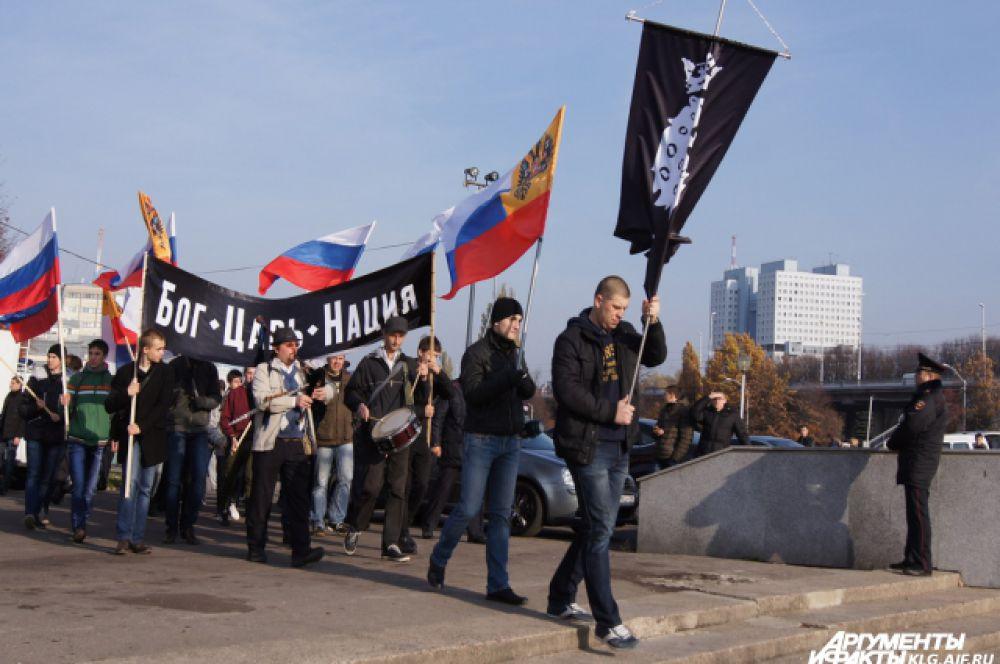 В патриотической акции участвовали представители партий, профсоюзов, национально-культурных автономий, других общественных объединений, ветераны и молодёжь.