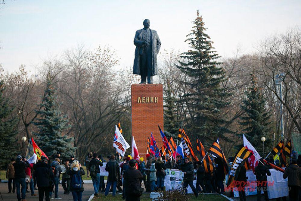 В Казани 4 ноября прошли сразу несколько крупных мероприятий.
