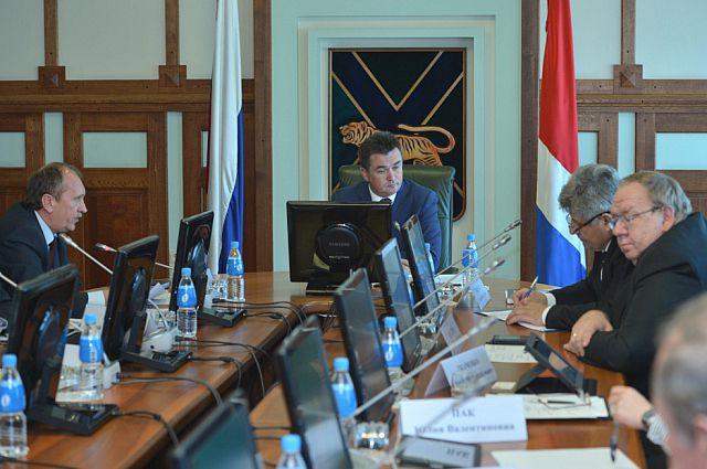 Заседание Комиссии по продовольственной безопасности и импортозамещению товаров на территории Приморского края.