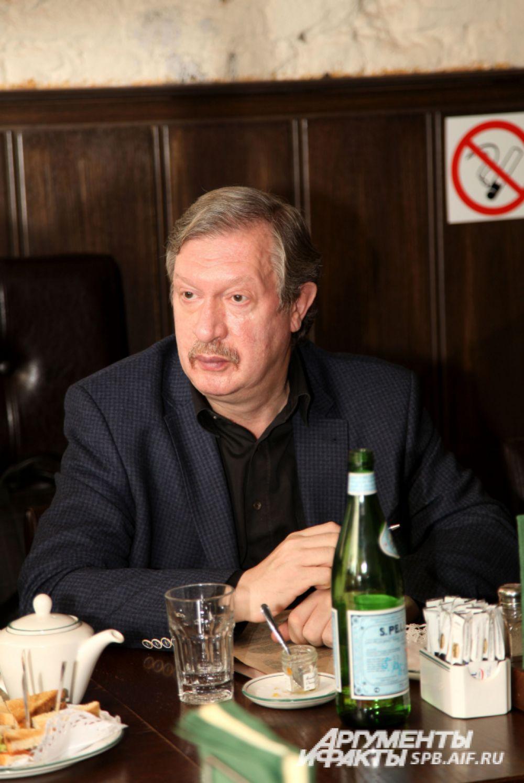 Шевчук Юрий Сергеевич, председатель Северо-Западной общественной организации «Зеленый Крест»