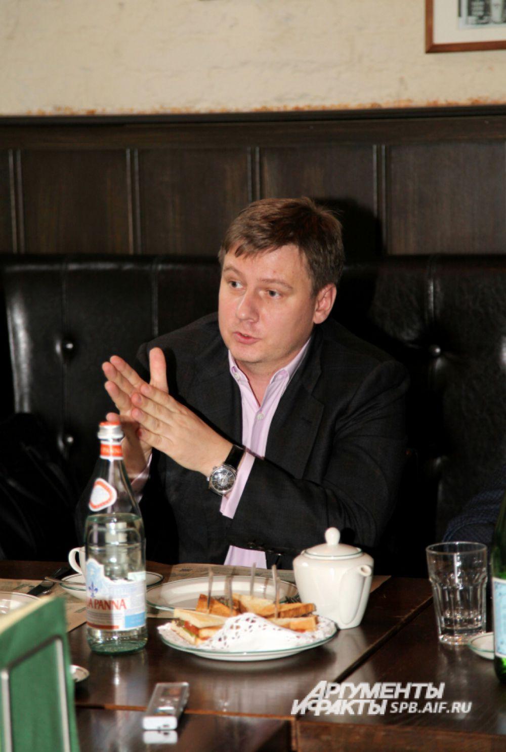 Алейников Игорь Станиславович, генеральный директор Автопарка № 6 «Спецтранс»