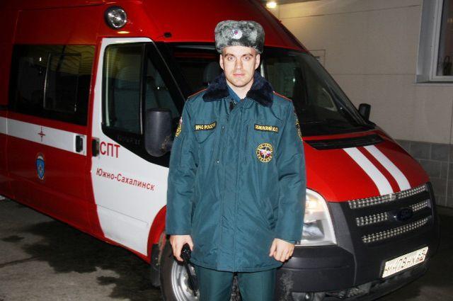 Спасатель Юрий Зеленский, принимавший участие в операции