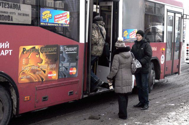 Автобусы и троллейбусы поедут по другим маршрутам.