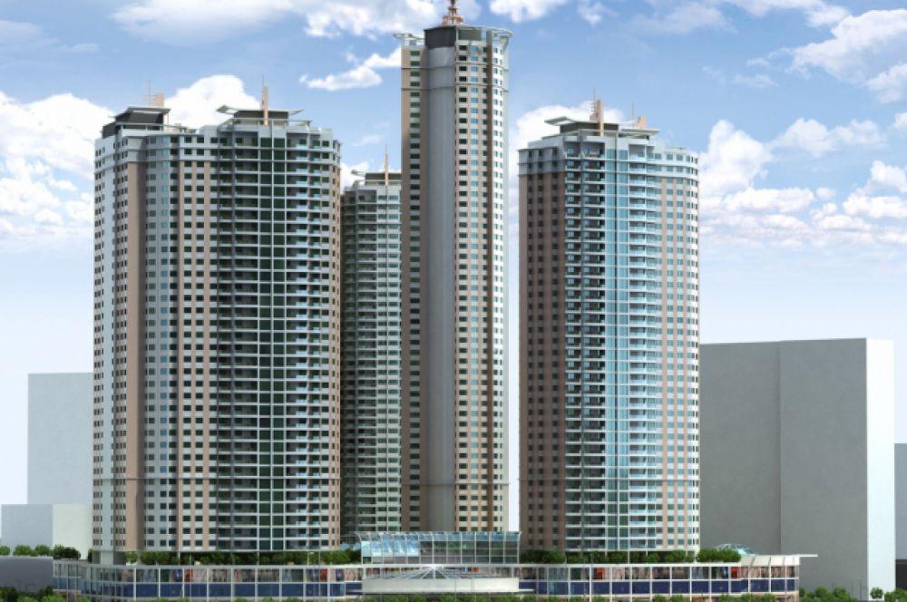 Высота ЖК «Аквамарин», который строится во Владивостоке, будет равна 203 метрам. Таким образом, сооружение обгонит нынешнего лидера - телебашню