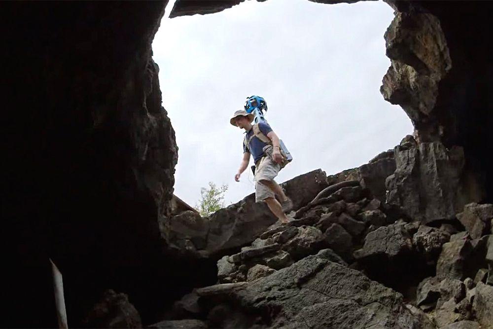 Пещеры Галапагосских островов.