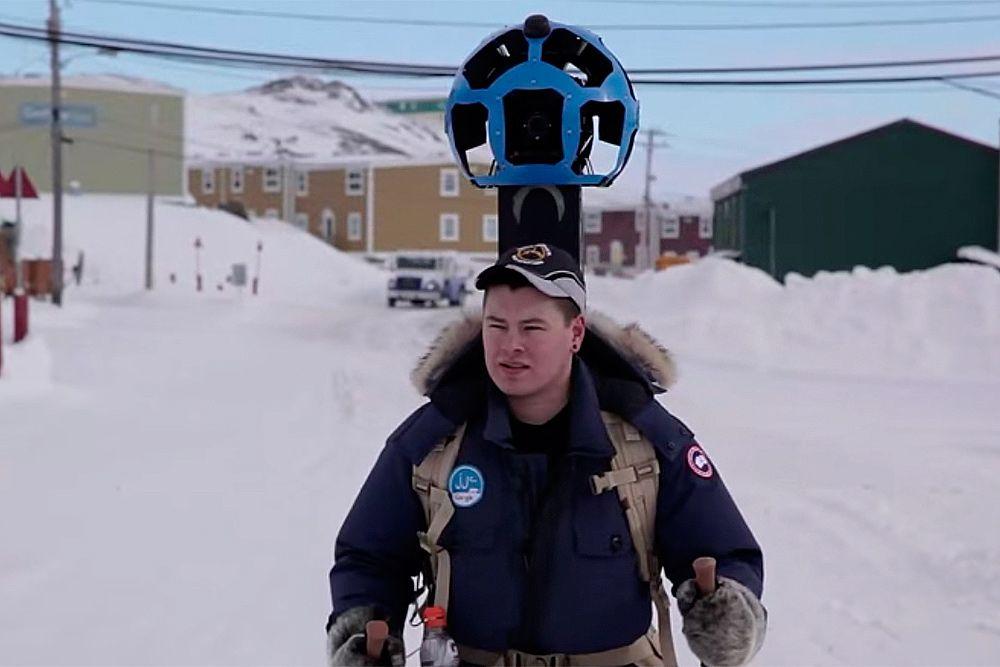 Арктические съмки в Канаде.