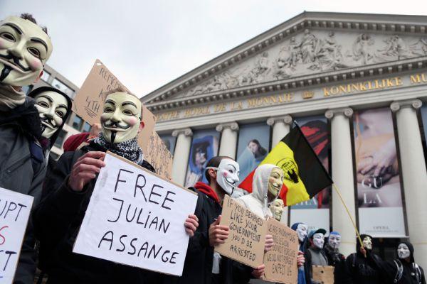 «Марш миллиона масок». Брюссель.