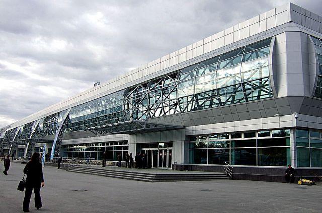Аэропорт «Толмачёво».