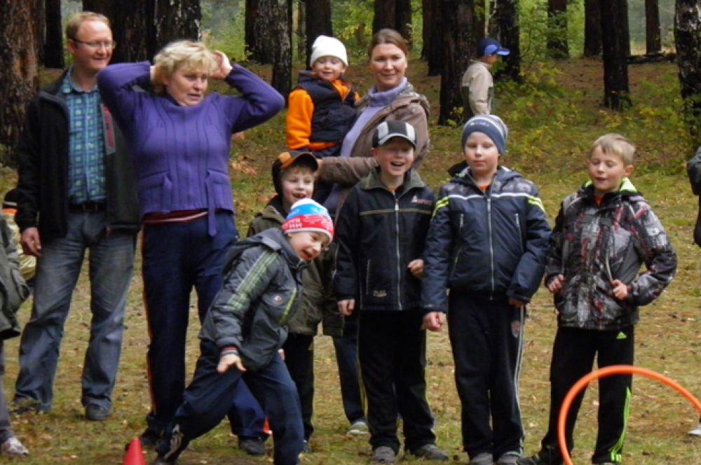 Участник №45. Фролова Светлана. Мои ученики и их родители всегда вместе, они спортивные и счастливые.