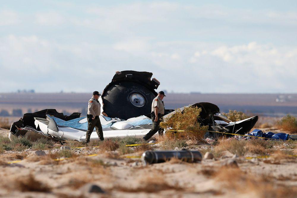 1 ноября в пустыне Мохаве на юге Калифорнии потерпел крушение суборбитальный корабль SpaceShipTwo. Трагедия произошла из-за серьезных неполадок во время тестового полета, один из пилотов погиб, другой получил серьезные ранения.