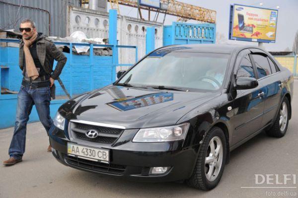 Андрей Кише гоняет на Hyundai Sonata