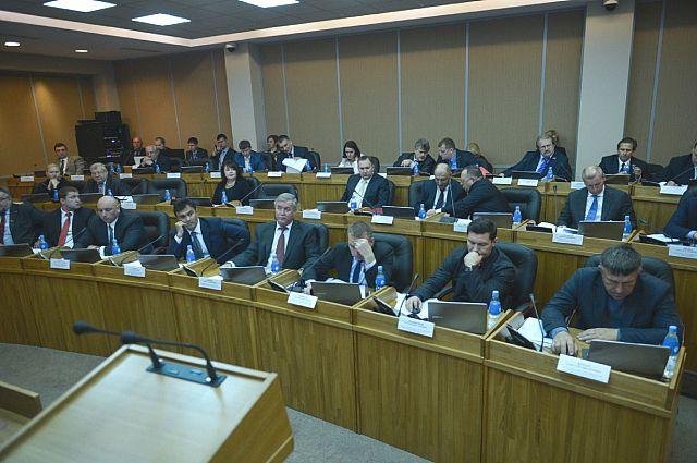 В Законодательном собрании Приморского края.