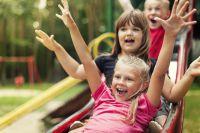 В детском саду время проходит весело!