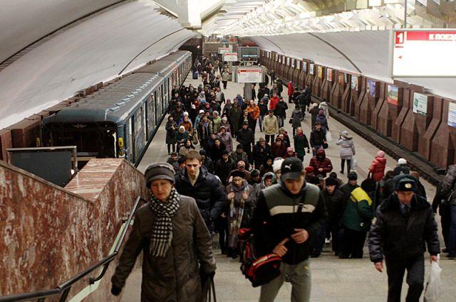 Станция метро «Площадь Маркса».