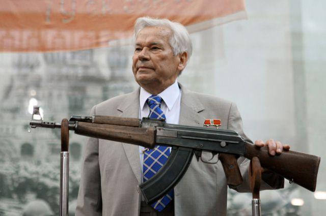 Михаил Калашников, 2007 год.