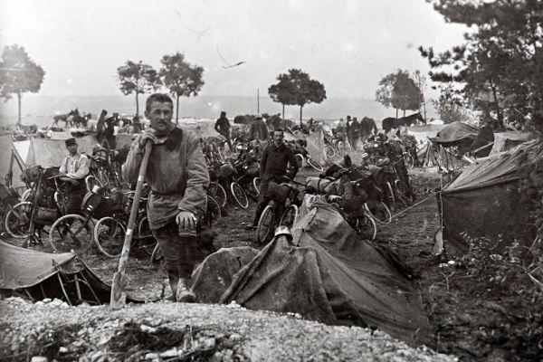 Французкие солдаты. 1915 год.