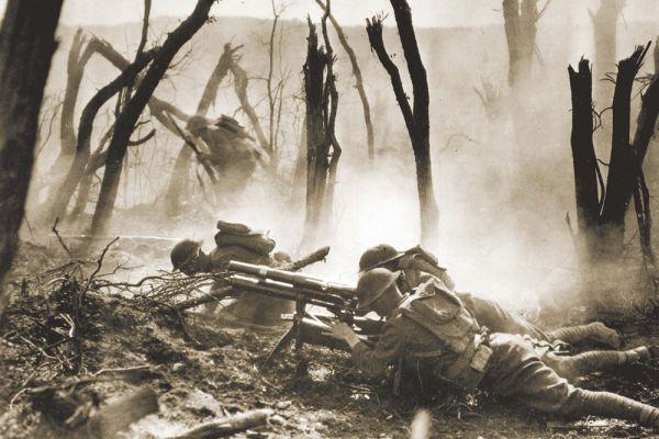 Траншейная пушка образца 1916 года.