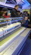 В музее представлены макеты современных моделей поездов «Сапсан», «Ласточка» и других.
