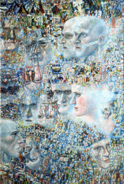 По не зависящим от Третьяковской галереи причинам произведения из Музея современного искусства г. Салоники не представляется возможным продемонстрировать на выставке. Значительная часть живописных произведений из этого музея опубликована в альбоме-каталоге, подготовленном к выставке.
