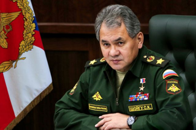 шойгу фото министра обороны