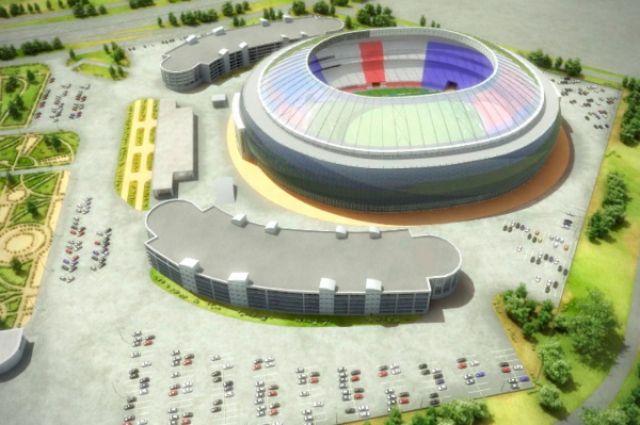 В Новосибирске появится футбольный стадион на 18 тысяч зрителей