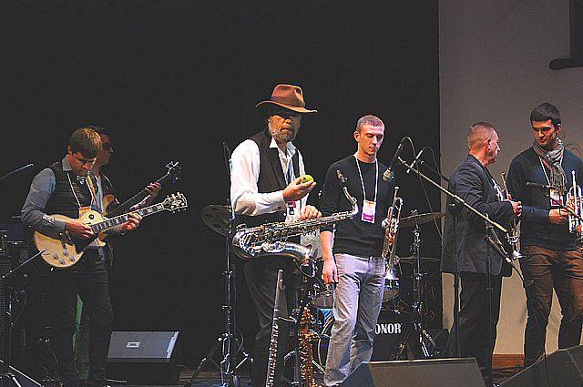 Открытие 11-го Международного джаз-фестиваля.