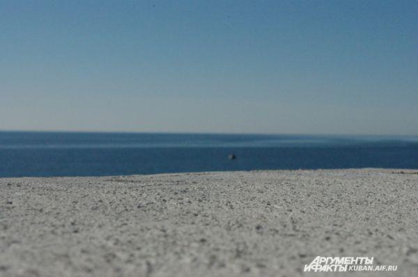 Вид на Черное море.