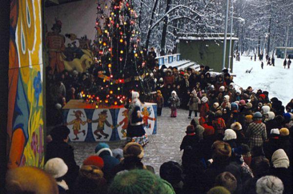 Открытие ёлки, 1980 г.