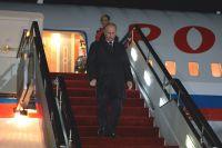 Владимир Путин прибыл в Приморье.