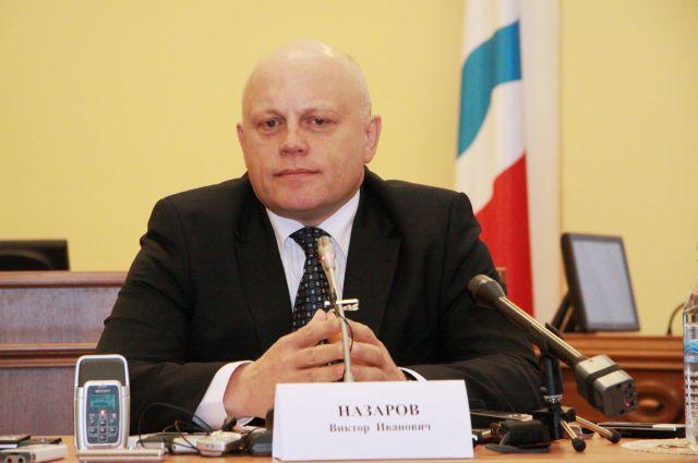 Глава Омской области Виктор Назаров.