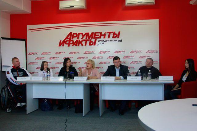 Ольга Буянова и другие организаторы аукциона