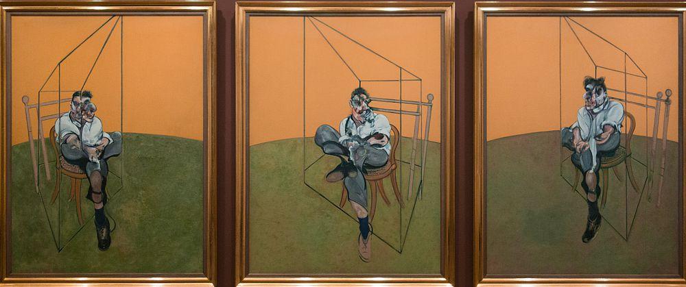 Триптих британского художника-экспрессиониста Фрэнсиса Бэкона «Три наброска к портрету Люсьена Фрейда» был продан в ноябре 2013 года на торгах аукционного дома Christie's в Нью-Йорке за рекордные $142,4 млн. Эта картина стала самым дорогим произведением искусства, когда-либо проданным на аукционе. Имя покупателя не раскрывается, однако, по данным некоторых американских СМИ, полотно было куплено известной нью-йоркской галереей Acquavella по поручению сестры эмира Катара - шейхи аль-Маяссы.