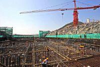 Строительство АЭС.