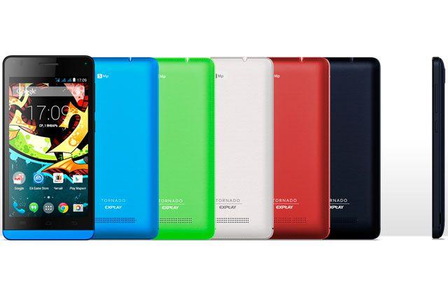 Новый смартфон с тремя SIM-картами Explay Tornado.