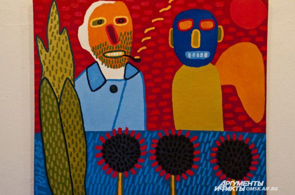 Выставка художника Юрия Татьянина «Философия общего дела. Ван Гог, Малевич, Бойс и прочие».
