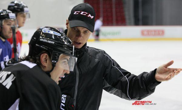 Шведский тренер Фреди Микко