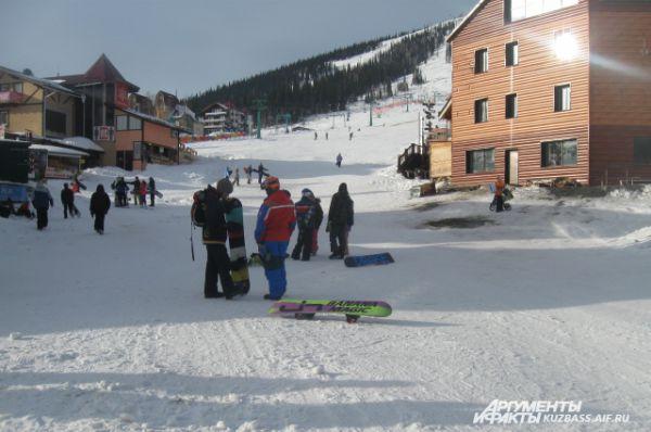 В Шерегеш приезжают туристы со всей России.