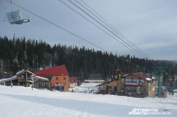 Шерегеш - это крупнейший горнолыжный курорт в Сибири.
