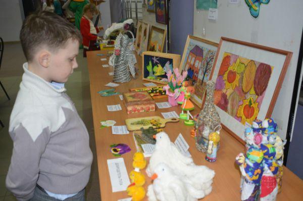 На выставке были представлены уникальные ручные работа