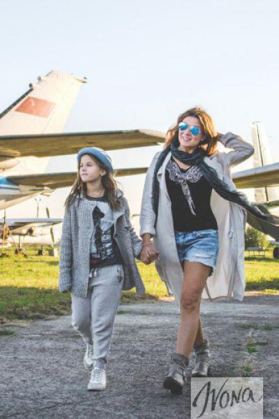 Жанна Бадоева с дочкой Лолой