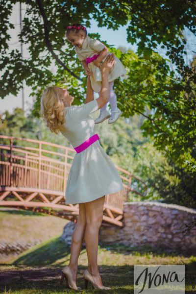 Лилия Ребрик с дочкой Дианой