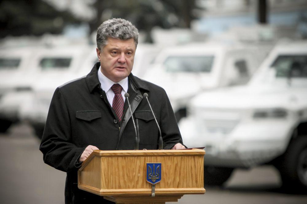 Вручение бронеавтомобилей миссии ОБСЕ в Украине