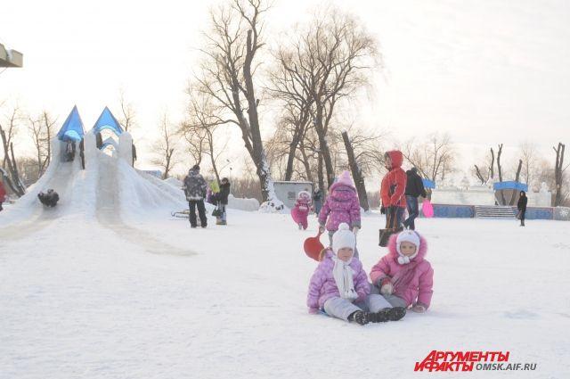 Главный ледовый городок Омска появится в сквере им. Дзержинского.
