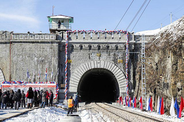 Въезд в Кипарисовский тоннель.