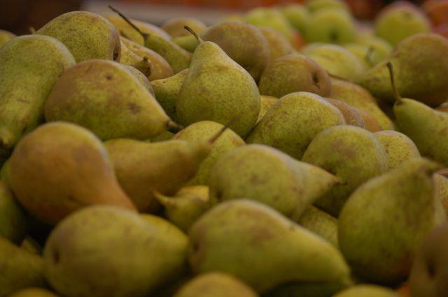 Груши и яблоки не пустили в Омскую область.