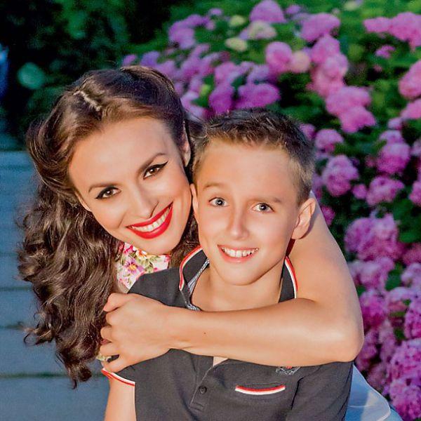 Надежа Надежда Мейхер-Грановская с сыном Игорем