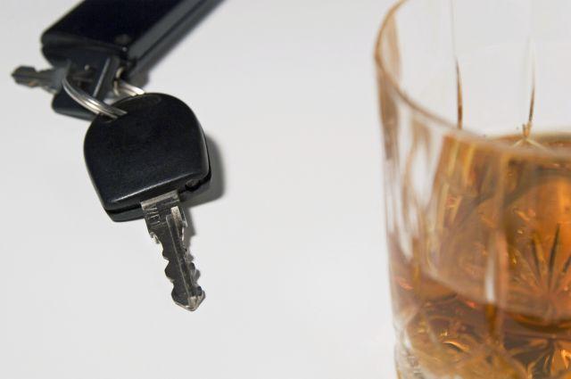 Алкоголь и ключи от автомобиля
