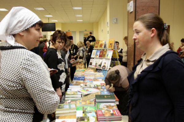 Особый интерес вызвали книги о культуреи правосласии.