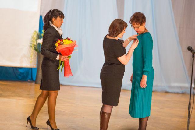 Руководители ЦДЮТ получили заслуженные награды.